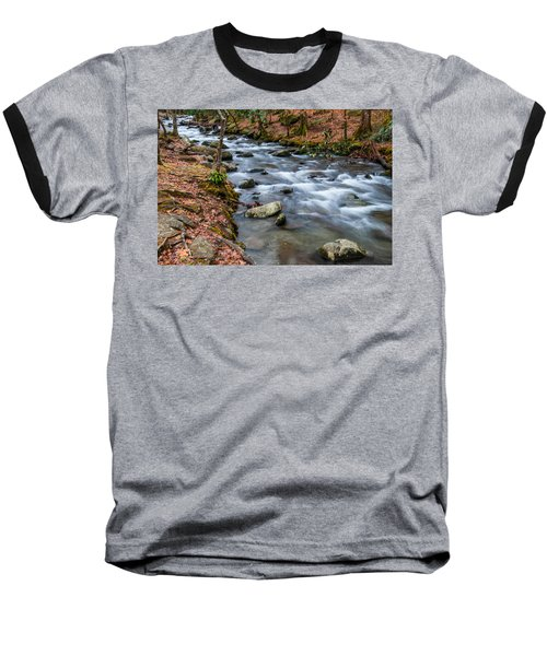 Smokey Mountain Stream Baseball T-Shirt
