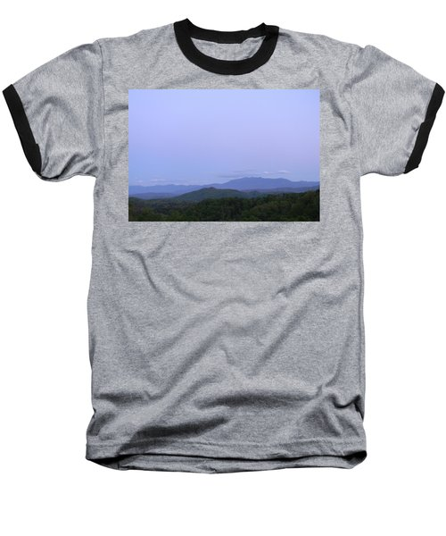 Smokies At Dusk Baseball T-Shirt