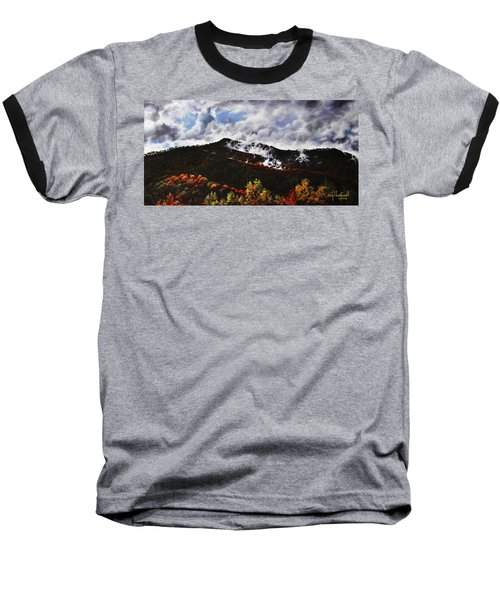 Smoky Mountain Angel Hair Baseball T-Shirt by Craig T Burgwardt
