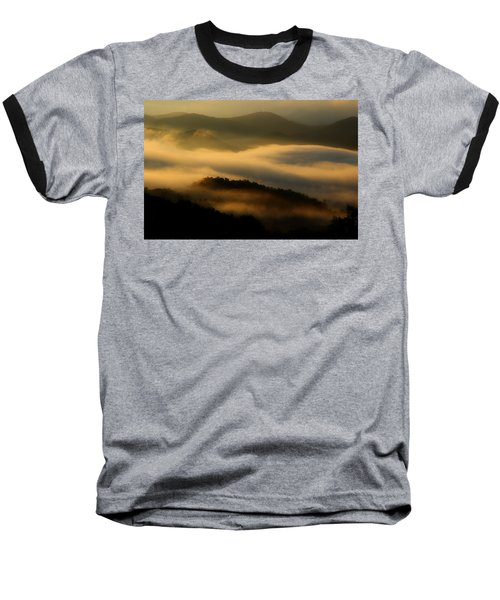 Smoky Mountain Spirits Baseball T-Shirt by Michael Eingle