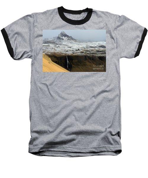 Baseball T-Shirt featuring the photograph Snaefellsnes Peninsula #1 by Paula Guttilla
