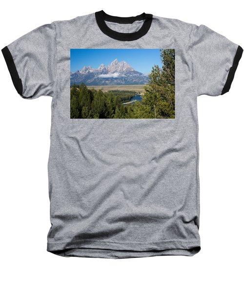 Snake River Overlook Baseball T-Shirt