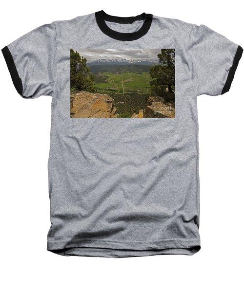 Sneffels Range Baseball T-Shirt