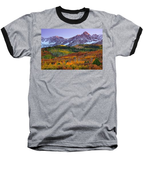 Sneffels Sunrise Baseball T-Shirt