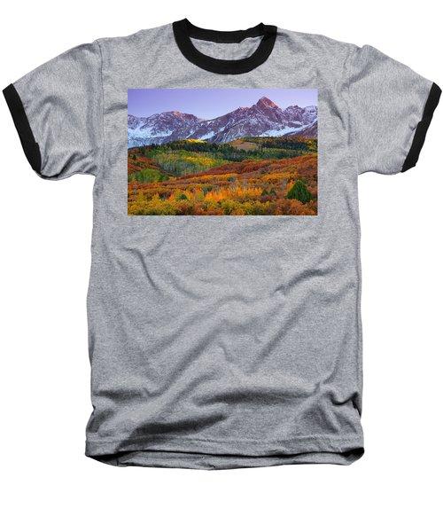 Sneffels Sunrise Baseball T-Shirt