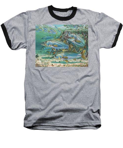 Snook Attack In0014 Baseball T-Shirt