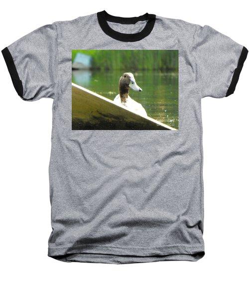 Snooping Duck Baseball T-Shirt
