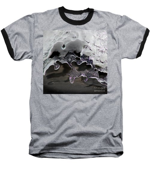 Snow And Ice Square Baseball T-Shirt