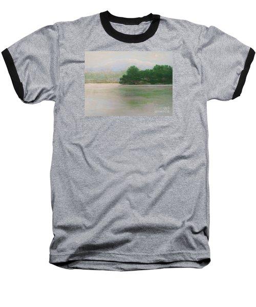 Snow At Beaver Lake Baseball T-Shirt