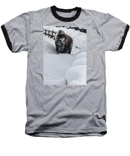 Snow Face Baseball T-Shirt