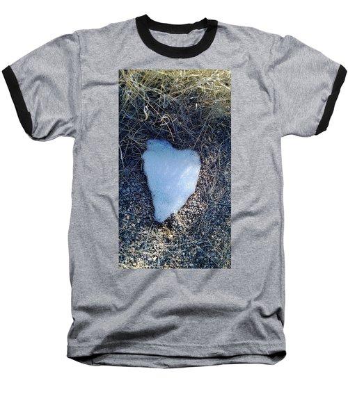 Snow Heart Baseball T-Shirt