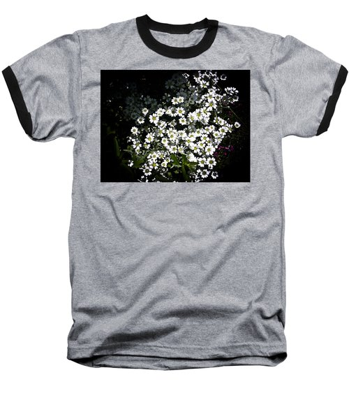 Baseball T-Shirt featuring the photograph Snow In Summer by Joann Copeland-Paul