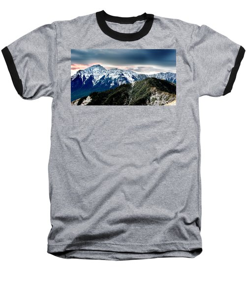 Baseball T-Shirt featuring the photograph Snow Mountain by Yew Kwang
