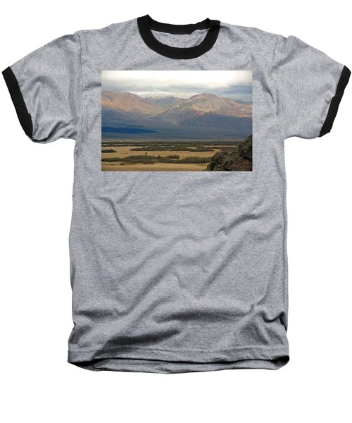 Baseball T-Shirt featuring the photograph Snow Peaks by Stuart Litoff