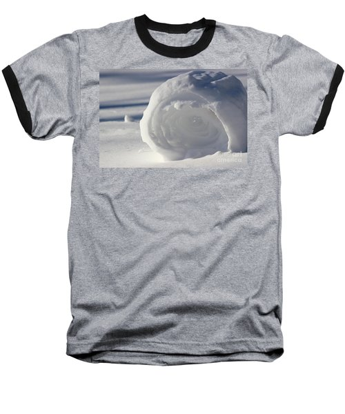 Snow Roller In Late Afternoon Baseball T-Shirt