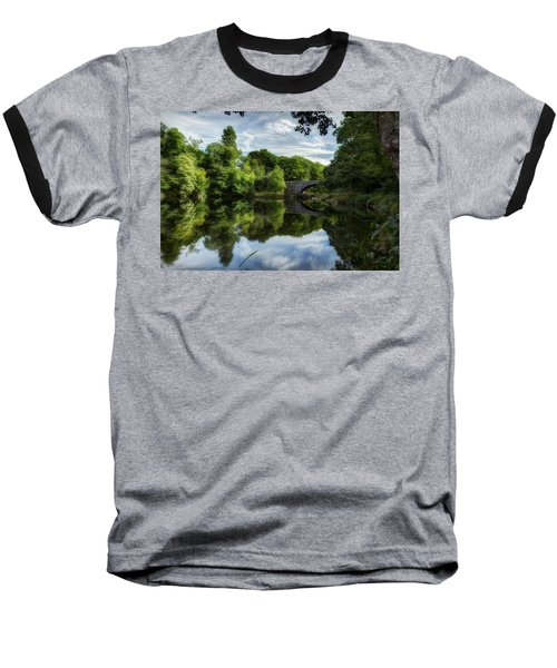 Snowdonia Summer On The River Baseball T-Shirt by Beverly Cash