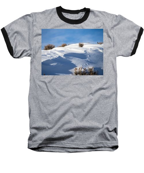 Snowdrifts Baseball T-Shirt