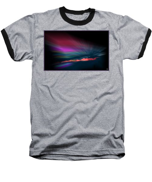 Snowfence Borealis Baseball T-Shirt