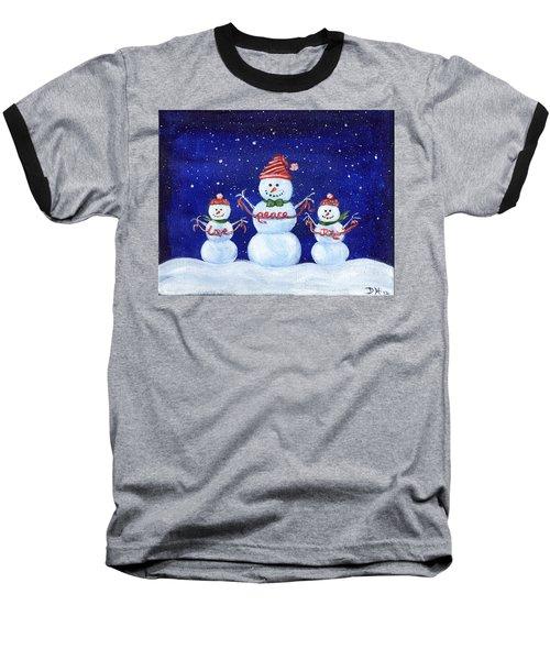Snowmen Baseball T-Shirt