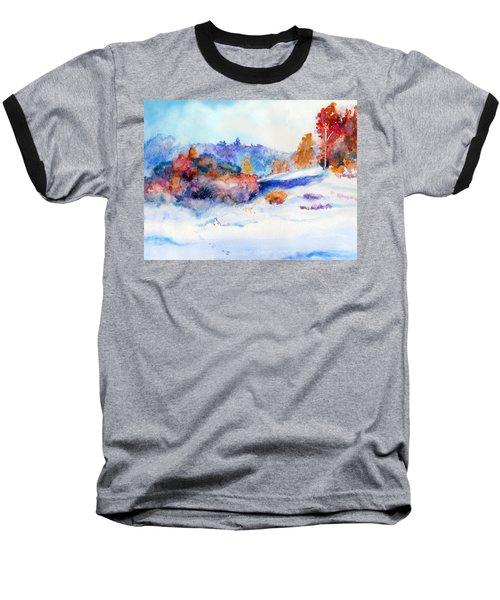 Snowshoe Day Baseball T-Shirt by C Sitton