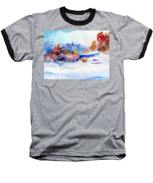 Snowshoe Day Baseball T-Shirt