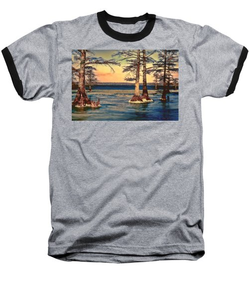 Snowy Reelfoot Baseball T-Shirt