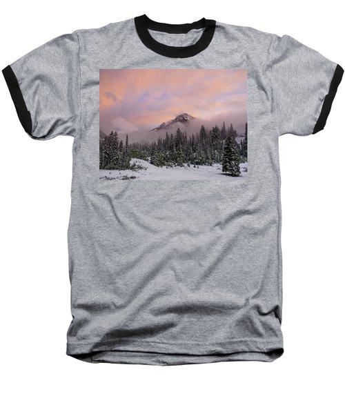 Snowy Surprise Baseball T-Shirt