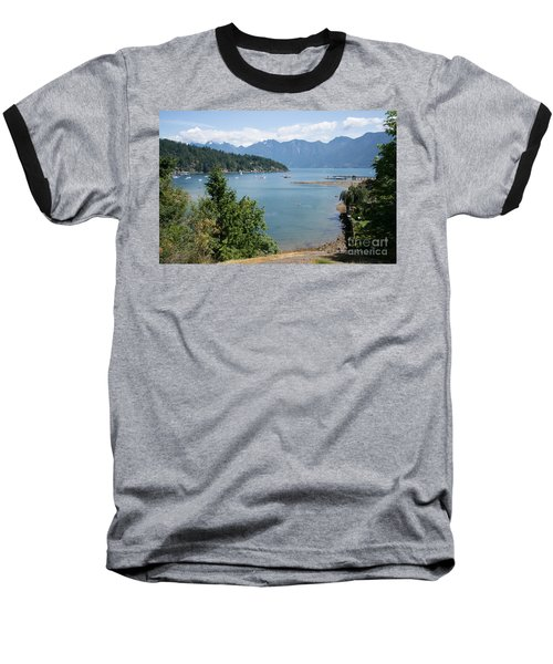 Snug Cove  Baseball T-Shirt by Carol Ailles