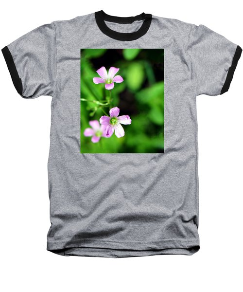 So Delicate In Purple. Texas Spring Perennial Baseball T-Shirt