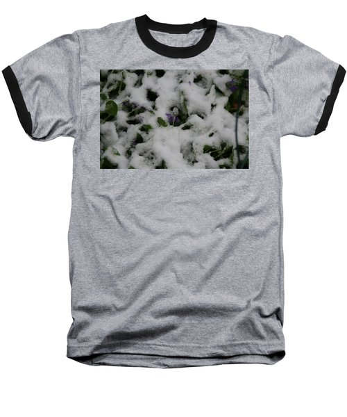 Baseball T-Shirt featuring the photograph So Much For An Early Spring by David S Reynolds
