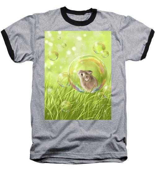 Soap Bubble Baseball T-Shirt