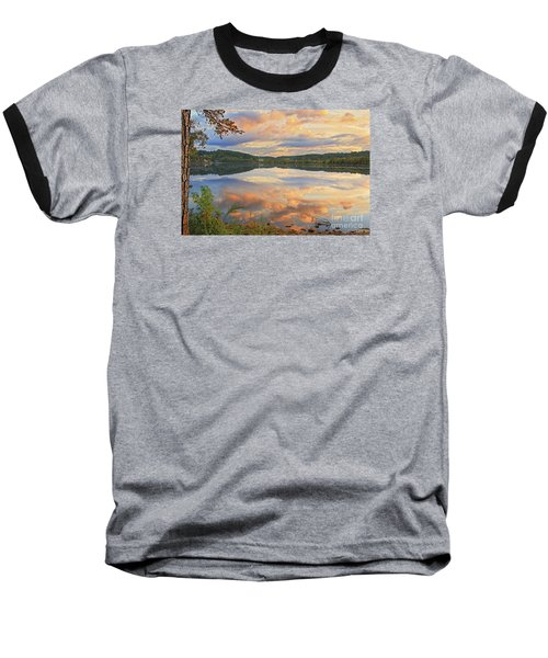 Baseball T-Shirt featuring the photograph Soddy Lake by Geraldine DeBoer