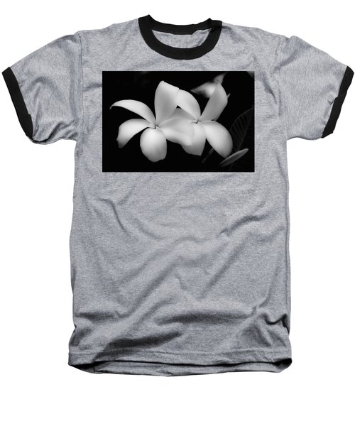 Soft Floral Beauty Baseball T-Shirt