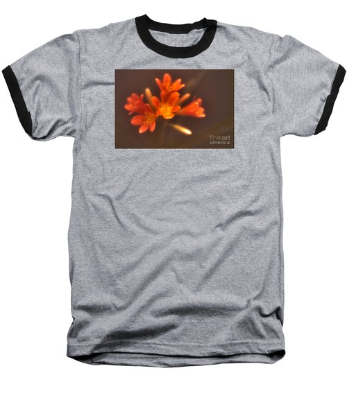 Soft Focus Kaffir Lily Baseball T-Shirt