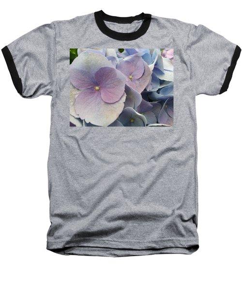 Soft Hydrangea  Baseball T-Shirt