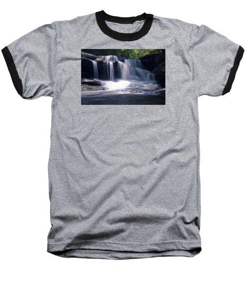 Soft Light Dunloup Falls Baseball T-Shirt