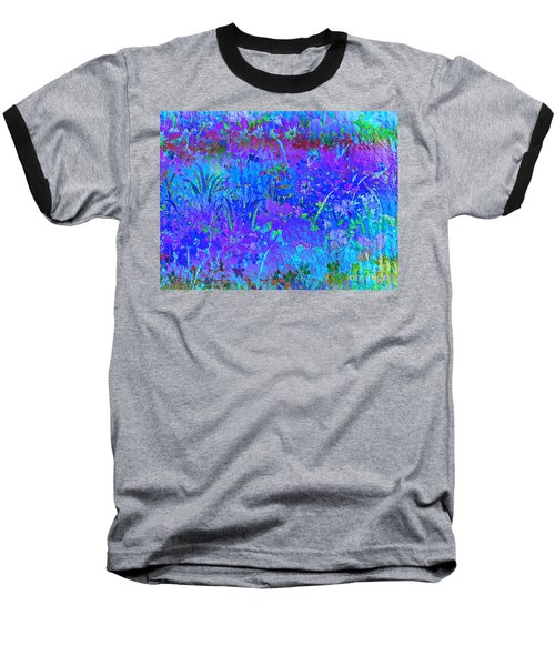 Baseball T-Shirt featuring the photograph Soft Pastel Floral Abstract by Judy Palkimas