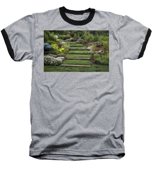 Soft Stairs Baseball T-Shirt
