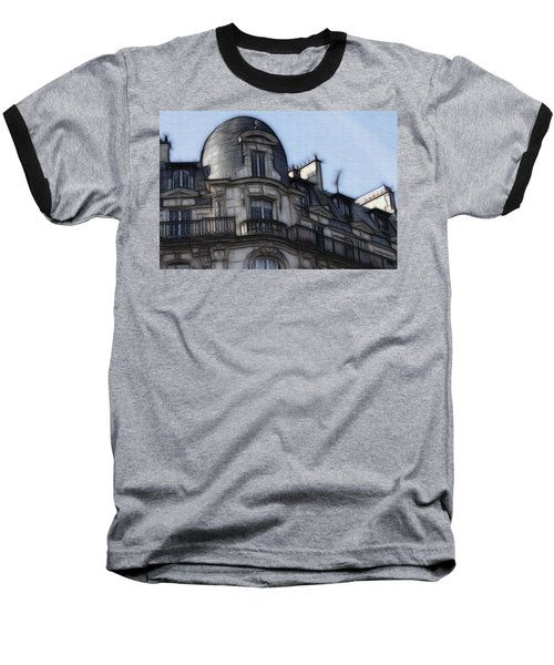 Softer Side Of Paris Architecture Baseball T-Shirt