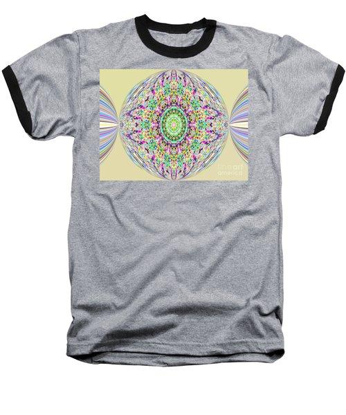 Softness. Art. Yellow Pink Design Baseball T-Shirt