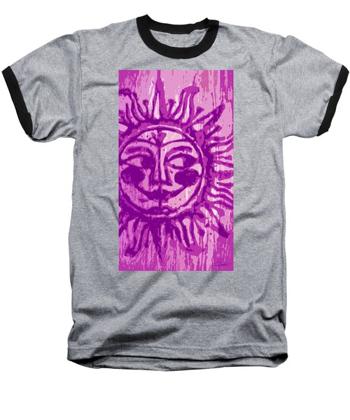 Sol - Fuschia Baseball T-Shirt