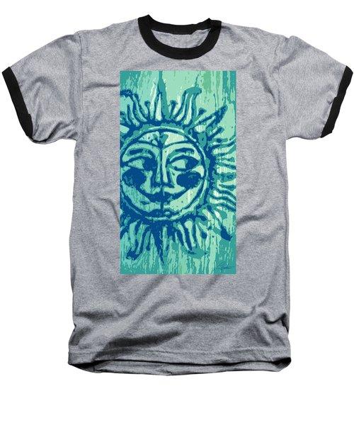 Sol -aqua Baseball T-Shirt
