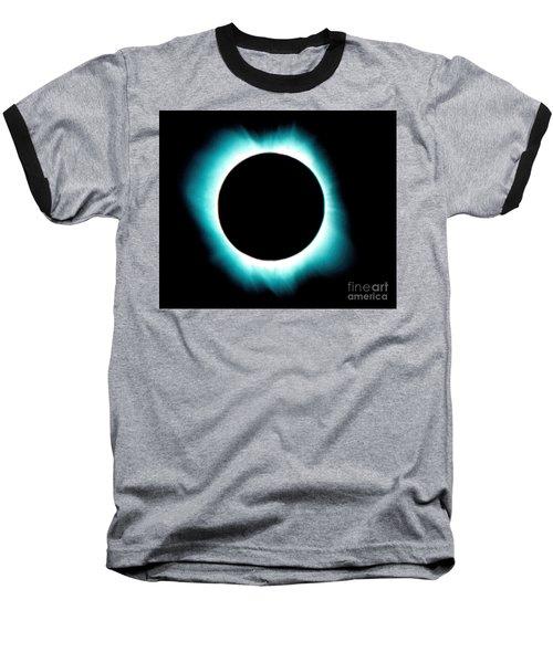 Solar Corona Baseball T-Shirt