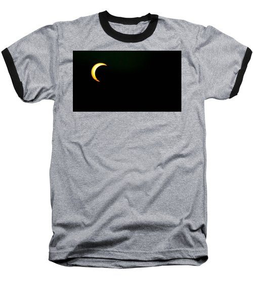Baseball T-Shirt featuring the photograph Solar Eclipse 2012 by Angela J Wright