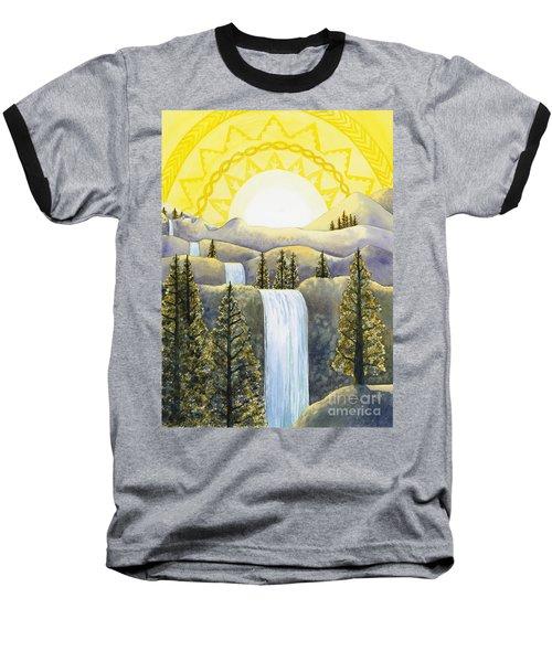 Solar Plexus Chakra Baseball T-Shirt