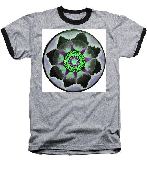Solar Soul Purple Sky Baseball T-Shirt