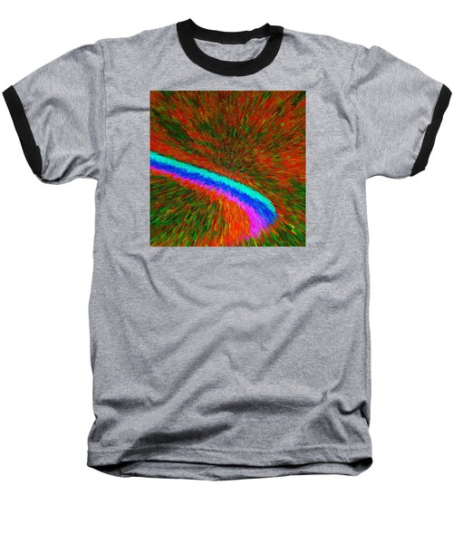 Baseball T-Shirt featuring the painting Solar Winds C2014 by Paul Ashby