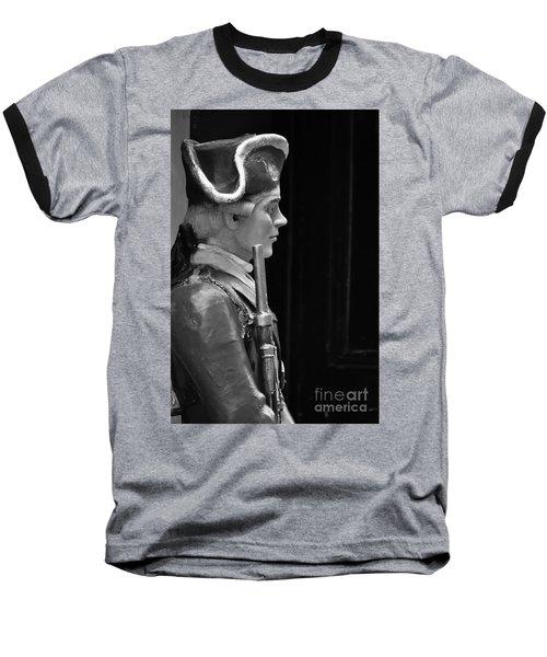 Soldier Statue Boston Ma Baseball T-Shirt