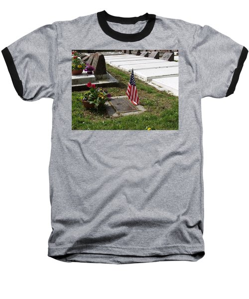 Soldiers Final Resting Place Baseball T-Shirt