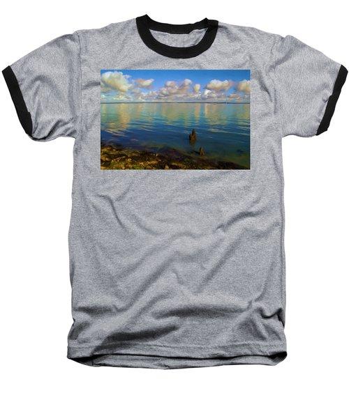 Solent Baseball T-Shirt by Ron Harpham